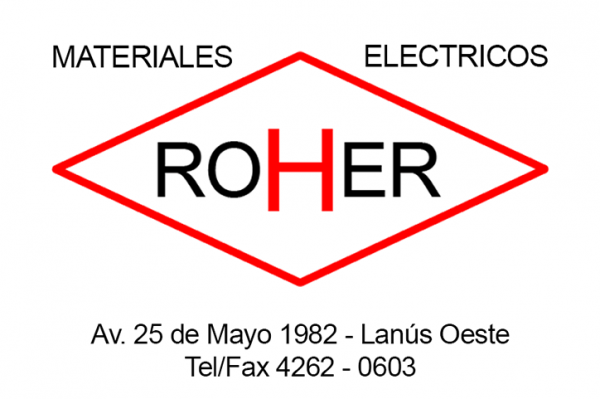 ROHER - Materiales Eléctricos